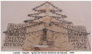 Church of Nossa Senhora da Nazaré, Luanda, Angola. Author and Copyright Virgilio Pena da Costa.
