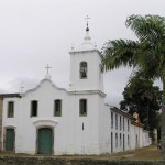 Church of Nossa Senhora das Dores, Paraty. Author and Copyright Marco Ramerini