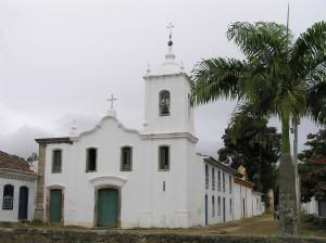 Church of Nossa Senhora das Dores, Paraty. Author and Copyright Marco Ramerini