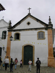 Church of Nossa Senhora do Rosário e São Benedito, Paraty, Brazil. Author and Copyright Marco Ramerini
