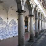 Cloister of the Convento (Convent) de São Francisco, Igreja de São Francisco, Salvador (Bahia), Brazil. Author and Copyright Marco Ramerini