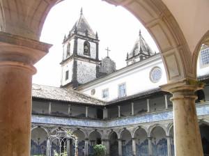 Cloister of the Convento (Convent) de São Francisco, Igreja de São Francisco, Salvador (Bahia), Brazil. Author and Copyright Marco Ramerini.