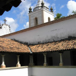 Cloister of the Franciscan Convento de Santo Antônio (1588), Igarassu, Pernambuco, Brazil. Author and Copyright Marco Ramerini