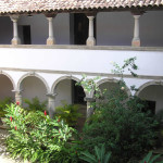 Cloister of the Franciscan Convento de Santo Antônio (1588), Igarassu, Pernambuco, Brazil. Author and Copyright Marco Ramerini.
