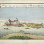 Elmina Castle, Ghana. Atlas Blaeu van der Hem (1665-1668). No Copyright