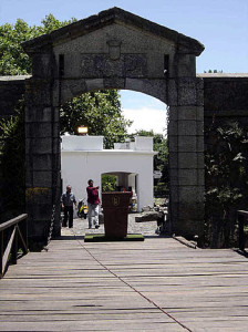Entrance to Colonia del Sacramento, Uruguay. Author and Copyright Pedro Gonçalves