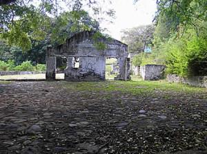 Forte de Sant'Ana, Vila dos Remédios, Cachorro, Fernando de Noronha. Author and Copyright Marco Ramerini.