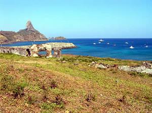 Forte de Santo Antônio, Ponta de Santo Antônio, Fernando de Noronha. Author and Copyright Marco Ramerini..