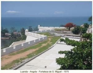 Fortress of São Miguel, Luanda, Angola. Author and Copyright Virgilio Pena da Costa