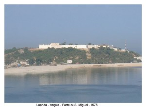 Fortress of São Miguel, Luanda, Angola. Author and Copyright Virgilio Pena da Costa.