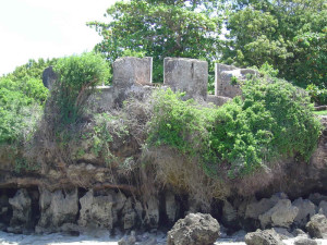 Horseshoe Fort, Mombasa, Kenya. Author and Copyright Hans-Martin Sommer