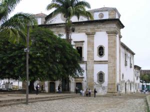 Igreja Matriz de Nossa Senhora dos Remédios, Paraty. Author and Copyright Marco Ramerini