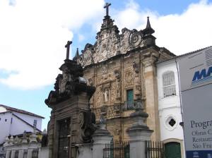Igreja da Ordem Terceira de São Francisco, Salvador (Bahia). Author and Copyright Marco Ramerini