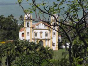 Igreja de Nossa Senhora do Carmo, Olinda, Pernambuco, Brazil. Author and Copyright Marco Ramerini