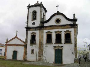 Church of Santa Rita, Paraty, Rio de Janeiro, Brazil. Author and copyright Marco Ramerini