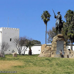 Das Reiterdenkmal, Windhoek, Namibia. Author and Copyright: Marco Ramerini