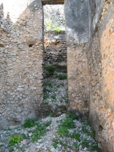 Interior view of the Tower, Portuguese Fort, Kilwa, Tanzania. Author and Copyright Alan Sutton