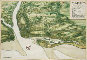 Itamaraca (1665). Author Johannes Vingboons