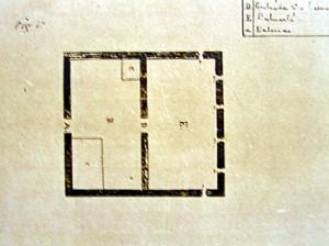 Old map of the Forte de São Joaquim do Sueste, Ponta das Caracas, Fernando de Noronha. Photo Marco Ramerini