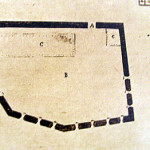 Old map of the Forte do Bom Jesus do Leão, Praia do Leão, Fernando de Noronha. Photo Marco Ramerini