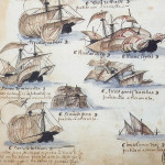 Part of the fleet commanded by Pedro Álvares Cabral, the navigator who discovered Brazil in 1500.
