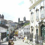 Pelourinho, Salvador (Bahia), Brazil. Author and Copyright Marco Ramerini
