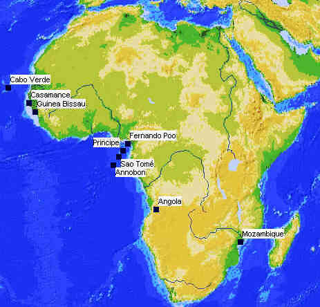 Portuguese language heritage in Africa Colonial Voyage