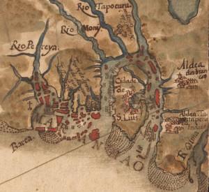 São Luis do Maranhão (1629) by Albernaz