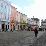 Pelourinho, Salvador de Bahía, Bahía, Brazil. Author and Copyright Marco Ramerini....