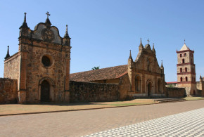 San José de Chiquitos mission (1697), Bolivia. Photo Copyright by Geoffrey A. P. Groesbeck