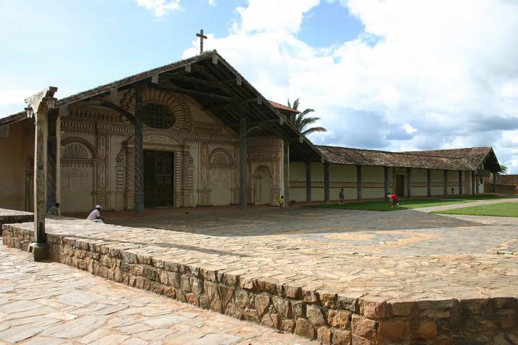 San Xavier mission, Bolivia. Photo Copyright by Geoffrey A. P. Groesbeck.