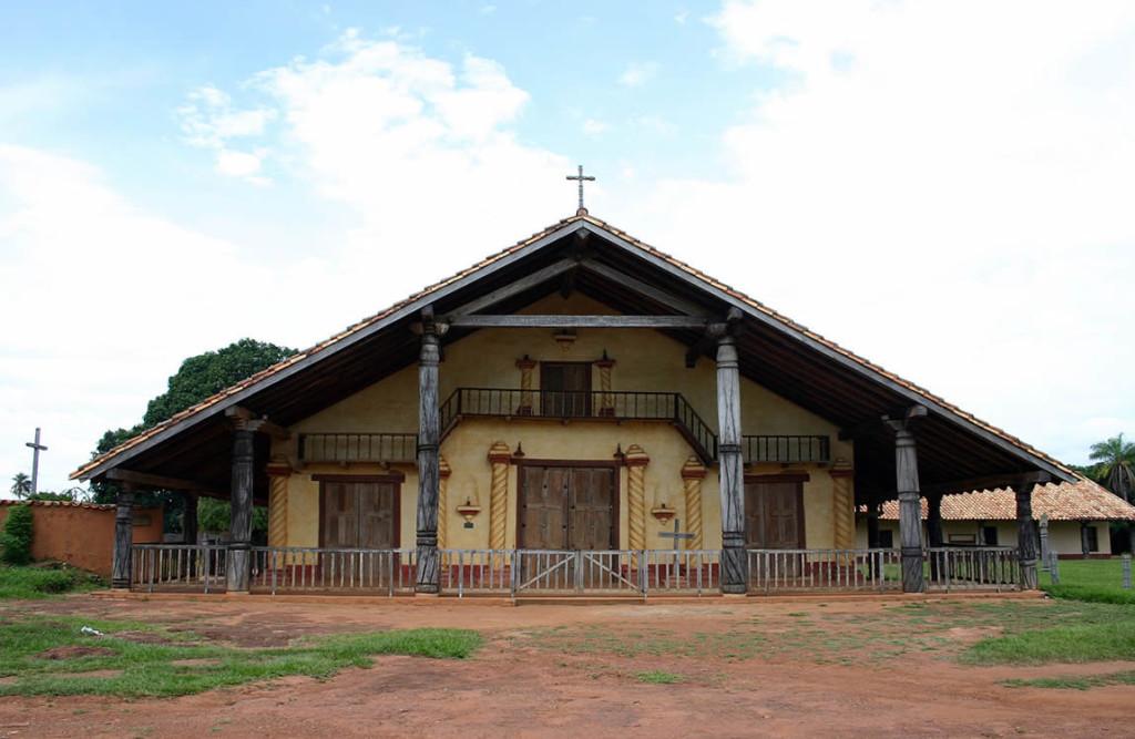 Santa Ana de Velasco mission, Bolivia. Photo Copyright by Geoffrey A. P. Groesbeck
