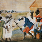 Slaves. The Old Plantation, ca. 1790-1800. Watercolor by unidentified artist.