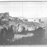 St. Joseph+chapel. An old photo (taken about 1910) of Fort St. Joseph and the ruin of the Portuguese Chapel at the left (photographer G. YOUNG)