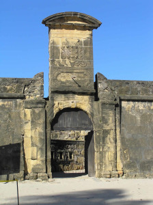 The entrance gate of Fort Orange, Itamaracá. Author and Copyright Marco Ramerini.