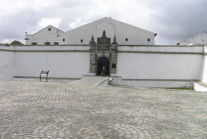 The entrance gate of Forte do Brum, Recife. Author and Copyright Marco Ramerini.