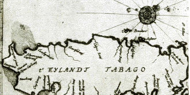 Tobago. Anonymous map of 1665