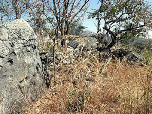 Pre refuge dry stone walled fort which ruled over Massapa