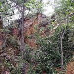Ancient gold workings (near Dambarare, Zimbabwe). Author and Copyright Chris Dunbar