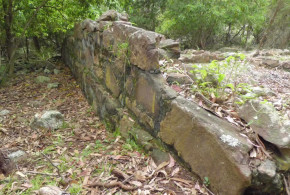 Bittangabee Bay ruins. Author and Copyright Jones Matos da Silva.,