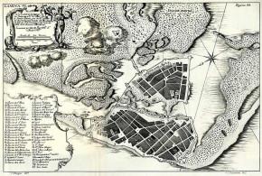 Cartagena de las Indias (1735), Colombia. De Ulloa, Antonio y Jorge Juan. Relación Histórica del Viaje a la América Meridional
