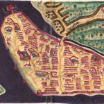 Cochim. From Livro das Plantas de Todas as Fortalezas (1635). Author Bocarro. No Copyright