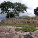 Dhlo Dhlo Ruins terrace where the canon were found, Dhlo Dhlo, Zimbabwe. Author and Copyright Chris Dunbar