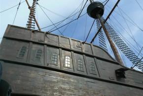 Flor de la Mar, Maritime Museum, Malacca, Malaysia. Author and Copyright Krzysztof Kudlek