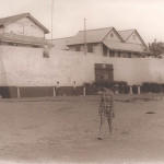 Fort Prinzenstein in 1970, Keta, Ghana. Author Coollessons. Licensed under the Creative Commons Attribution-Share Alike