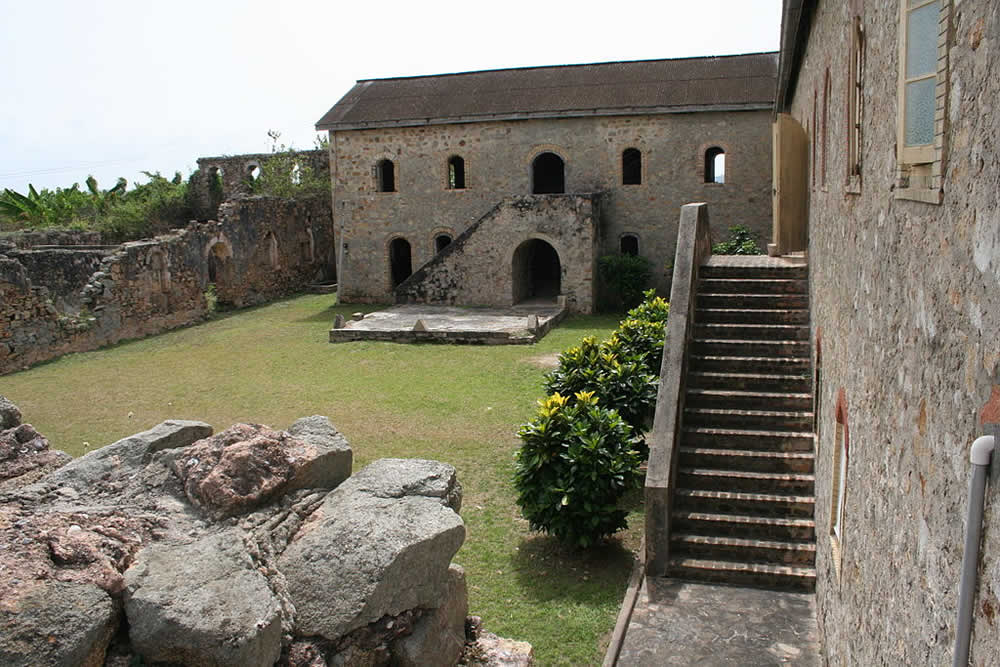 Fort Gross  Friedrichsburg, Ghana. Author Obruni. Licensed under the Creative Commons Attribution