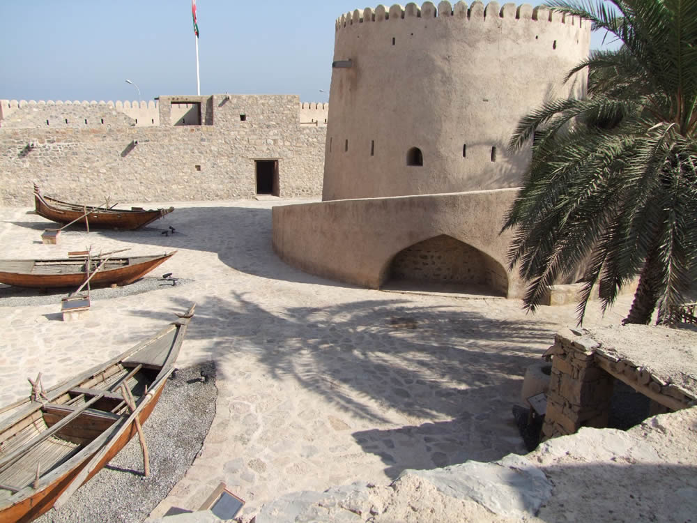Khasab Fort, Oman (photo © by Fritz Gosselck).