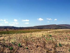 Location of Earthwork 1, Dambarare, Zimbabwe. Author and Copyright Chris Dunbar