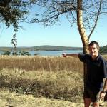 Location of Earthwork 4, Dambarare, Zimbabwe. Author and Copyright Chris Dunbar