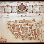 Map of Tranquebar 1733, India. No Copyright